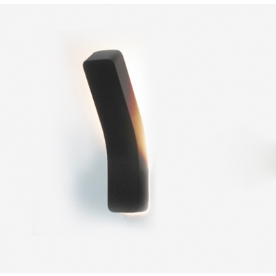 """High Bright Bend Wall Light 13.7"""" High 5W Vertical Linear LED Sconces in Black/White for Led Directional Light for Bedroom Hallway Hotel Room Cafe"""