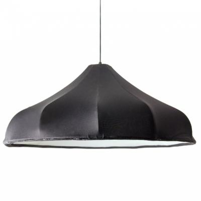 """23.6""""Wide Umbrella Elastic Fabric Designer Style Large Pendant Light"""