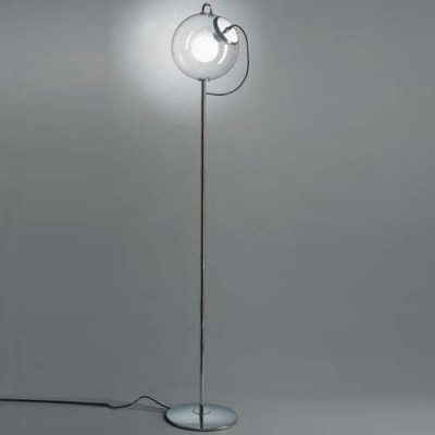 """66.1""""High Glittering Bubble Shaped Chic and Bold Designer Floor Lamp"""