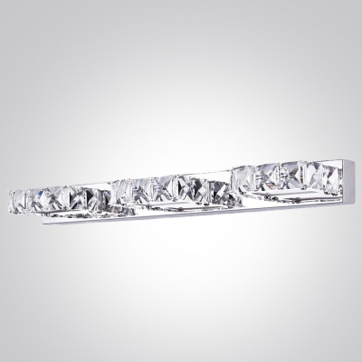 Add Spectacular New Style to Your Bathroom with Brilliant Crystal and Chrome Bath Bar Wall Light