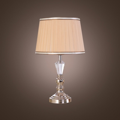 Clear Crystal Table Lamp Provides Great Way to Add Light and Elegance to Your Home Decor