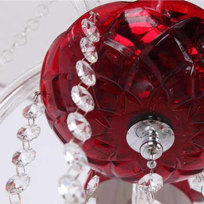 Red Crystal Droplets Clear Crystal Chains 26.7
