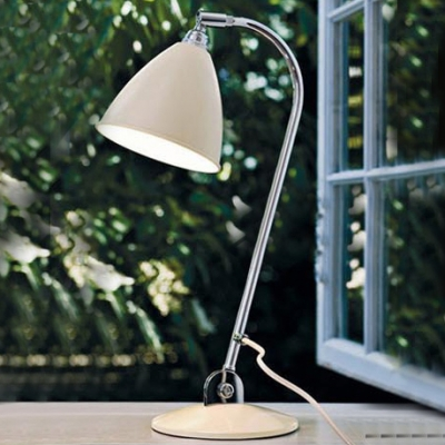 Chic and Elegant Wrought Iron Designer Light with Cone Shade