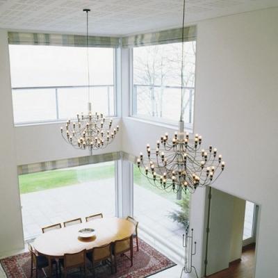 Designer lighting large chandelier in chrome 30 light designer lighting large chandelier in chrome 30 light mozeypictures Gallery