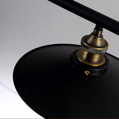 2 Light Adjustable Industrial Style Linear Chandelier