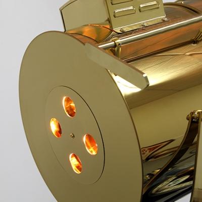 1 Light LED Floor Lamp Gold Lamps Floor Lamps Tripod Lamps