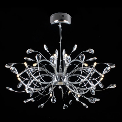 Whimsical chandelier in brilliant design made from stainless steel whimsical chandelier in brilliant design made from stainless steel shaped in branch image mozeypictures Image collections