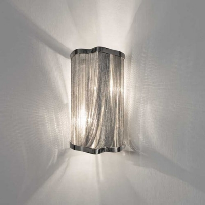 Image result for Beautiful Designer Lighting Chain Hanging Wall Sconce