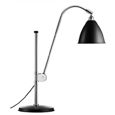 Brilliant Design and Graceful Iron Designer Table Lamp with Bowl Shade