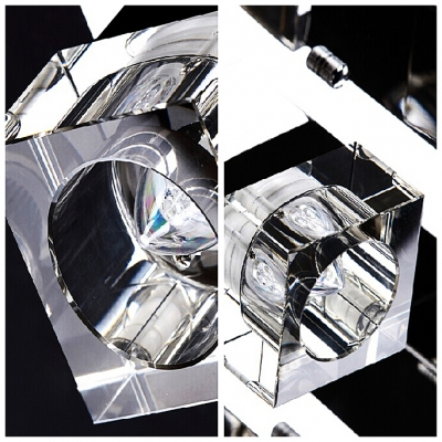 Cube Bright Crystal Shade 15.7