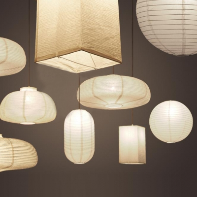 ... Exclusive Paper Mini Pendant Light In White By Designer ... : paper light pendant - azcodes.com