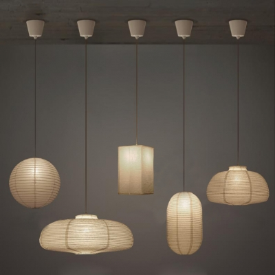 Modern Paper Pendant Light For Hotel