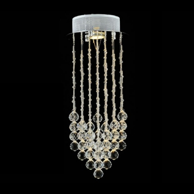 Hanging Crystal Beaded Strands 19.6