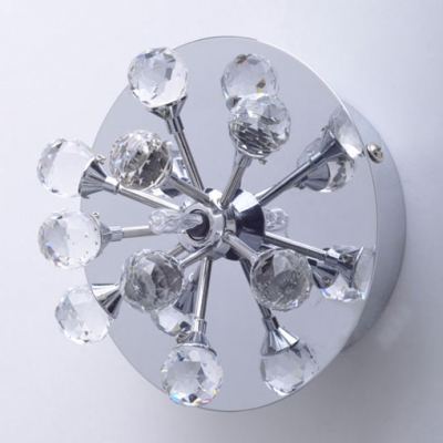 Modern Chrome and Crystal Balls Burst 3.9