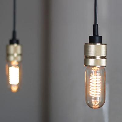 single light mini edison bulb pendant