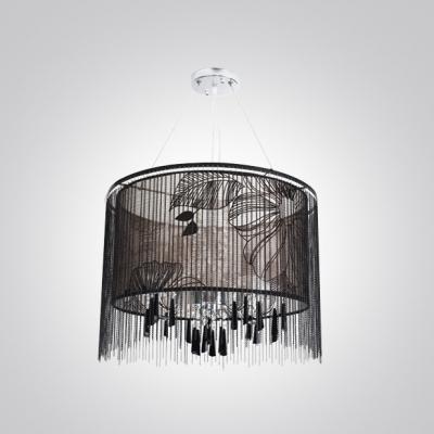 Sheer Black Inner Shade Beveled Crystal Bead Strands 17.7