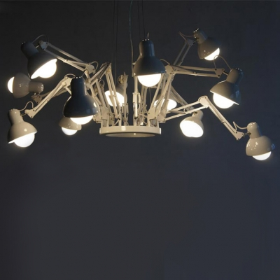 Architectural Chandelier Spider 12-Light