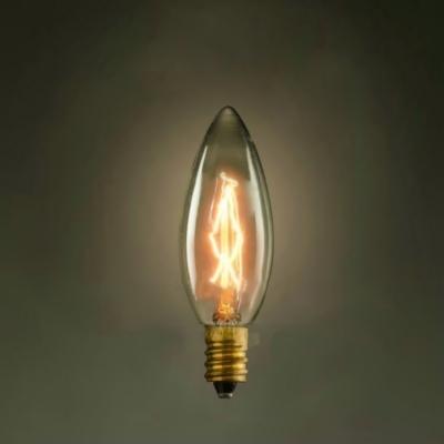 35*110mm Candle C35 220V  E14 40W Edison Bulb