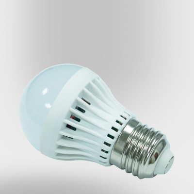 Warm White 180° SMD2835 PC 220V  E27 5W LED Globe Bulb