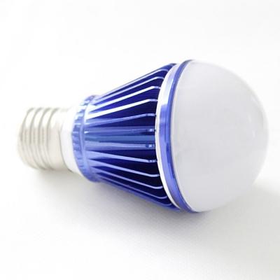 10Pcs 6000-6500K Dark Blue 300lm E27 5W LED Globe Bulb