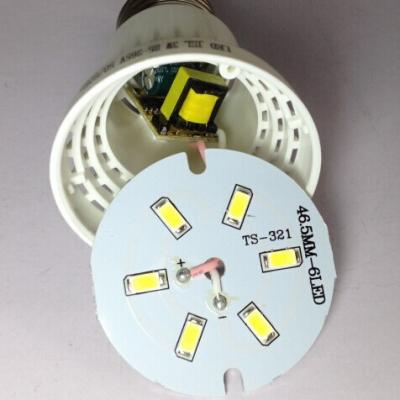 10Pcs  6000K 9W 220V E27 LED Globe Bulb 5730SMD 180°