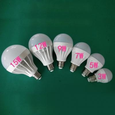 5730SMD Cool White 12W 5Pcs E27 350lm  LED Globe Bulb