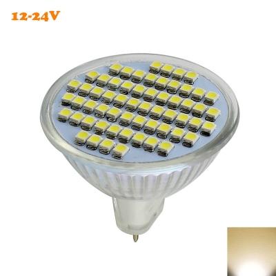 MR16 Bulb 12V-24V 2W  60Leds  2800K