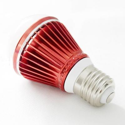 10Pcs E27 5W Cool White Light Red 300lm LED Globe Bulb