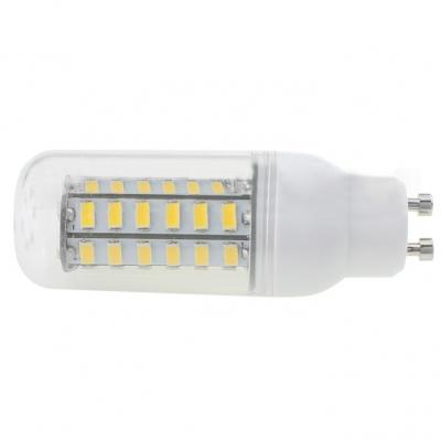 5730SMD 5.5W E26 110V 3500K Clear LED Corn Bulb