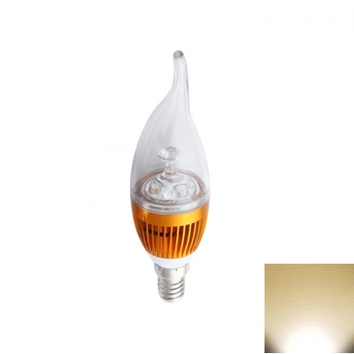 6LED-5730SMD E14 3W 180° 240lm Warm White