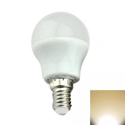 E14 3W 2700-3000K LED Globe Bulb