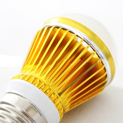 10Pcs Golden 300lm E27 5W  Warm White Light LED Globe Bulb