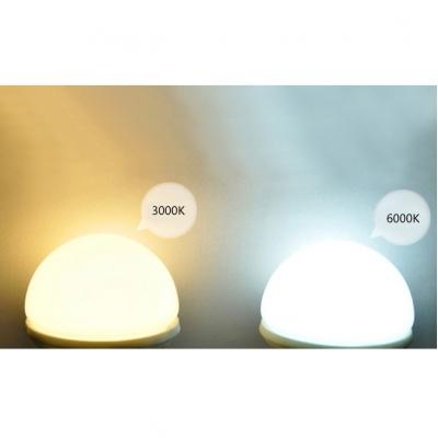 220 E27 3W SMD2835 Warm White Light Ball Bulb