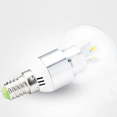 300lm 120° 9Leds E14 LED Globe Bulb 3W Cool White