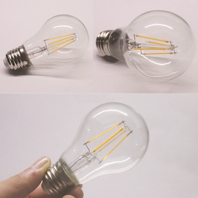360° E27 4W Candle Cool White Light LED Edison Bulb