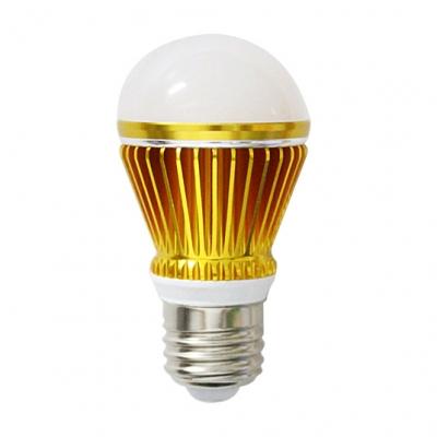 10Pcs 300lm Golden  E27 5W  Cool White Light LED Bulb