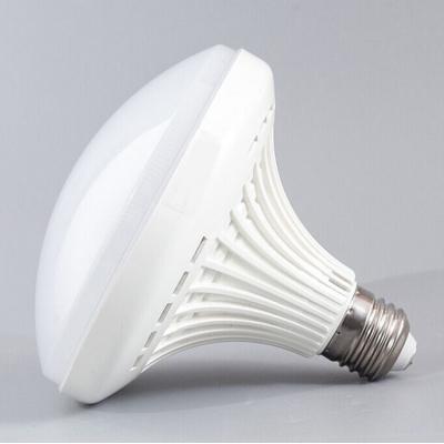 16W 2700K White Mushroom E27 LED Light Bulb