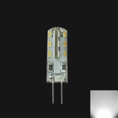 220V 1.5W 24-Leds Cool White G4 Mini Blub