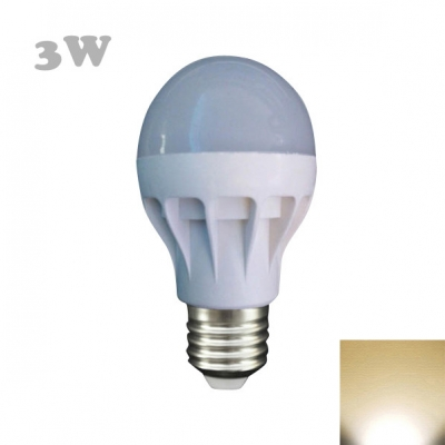 6Leds 330lm SMD5630 PP 220V 2800K LED Globe Bulb