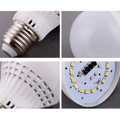 10Pcs E27 9W 220V Warm White Light LED Bulb