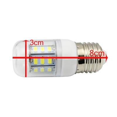 Cool White 27Leds E27  300lm 220V 3.6W LED Bulb