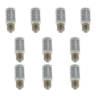 E27  10Pcs 220V 100lm 3500K  24-Leds Corn Bulb