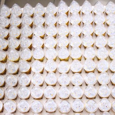 10Pcs 240lm 220V E27 3W 180° 6LED-5730SMD Warm White
