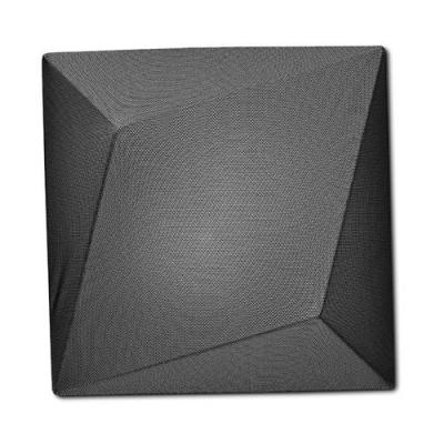 Bold Design Elastic Fabric Square Classic Designer Flush Mount Ceiling Light