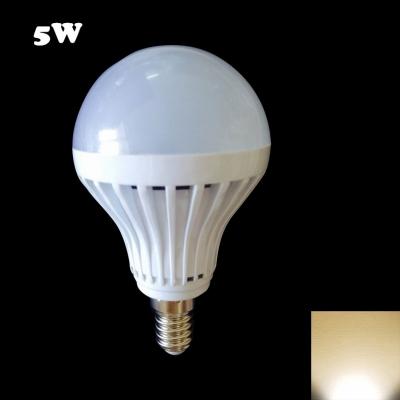 180° E14 27Leds  5W Warm White Light Globe Bulb