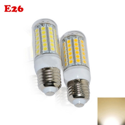 5050SMD 69Leds E26 6.5W PC 2800K LED Corn Bulb