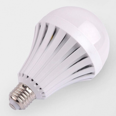 9W 2835SMD E27  PC LED Globe Bulb Cool White Light