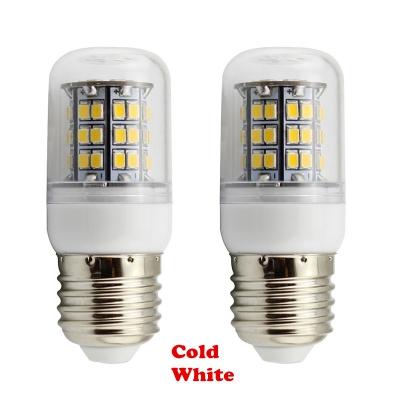 E27 48-SMD 2835 2 Packs 220V Cool White LED Corn Bulb