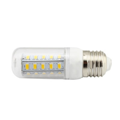 4W E26 110V 3500K Clear LED Corn Bulb