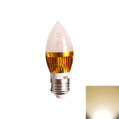 LED Candle Bulb E27 5W  Goden 180° Warm White